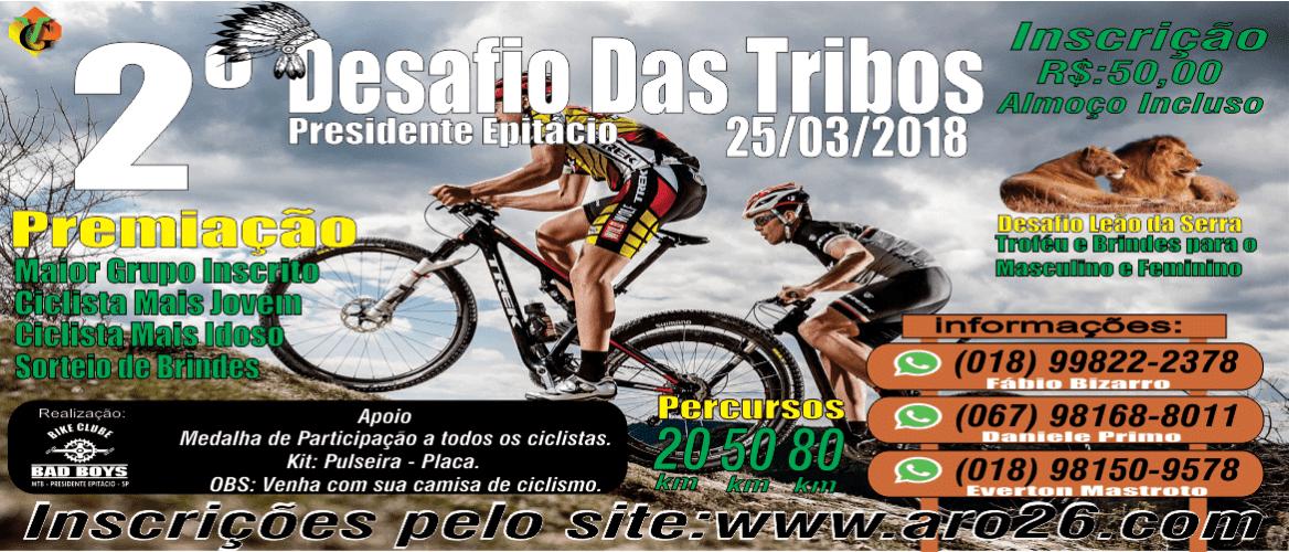 861b1e0b03 2º Desafio das Tribos – pedalamento