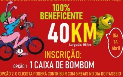 PEDAL DA PÁSCOA 100% BENEFICENTE