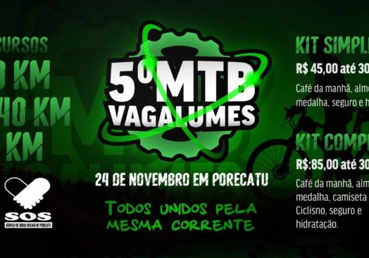 5º MTB VAGALUMES SOS PORECATU 2019