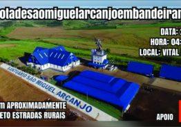 ROTA DE SÃO MIGUEL ARCANJO EM BANDEIRANTES