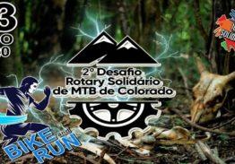 2º DESAFIO ROTARY SOLIDÁRIO DE MTB DE COLORADO 2020